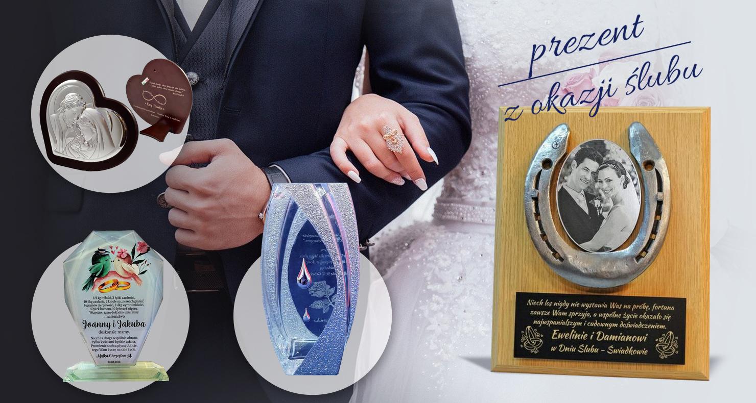 Wyjątkowy prezent na Ślub - dedykowane upominki dla Nowożeńców