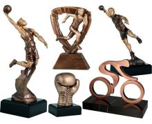 Statuetki sportowe, trofea sportowe