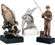 Statuetki wędkarskie