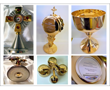 Grawerowanie naczyń i akcesoriów liturgicznych