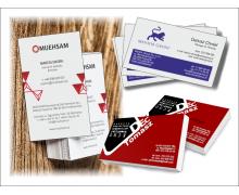 Wizytówki - drukowane i grawerowane